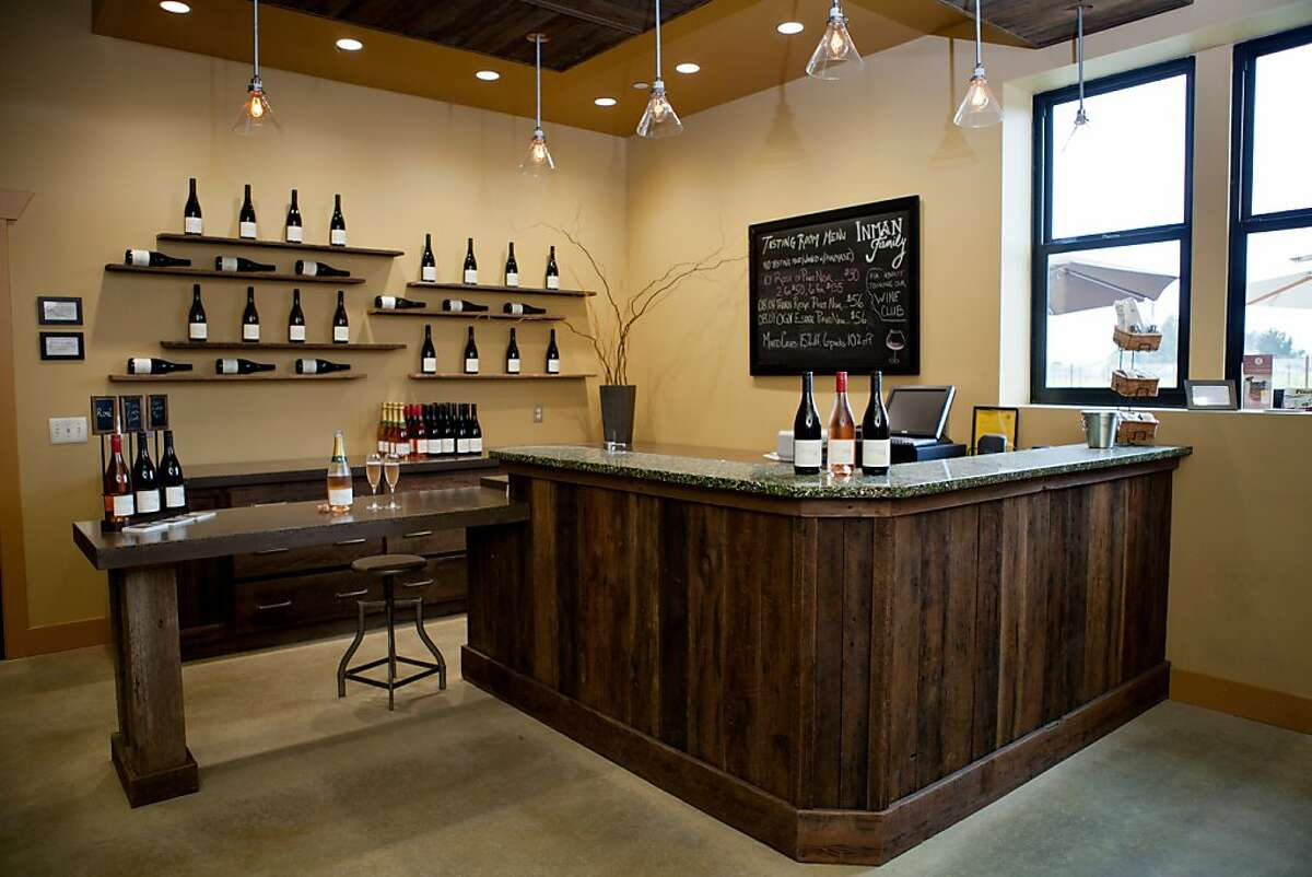 The Inman Family Wines tasting room.