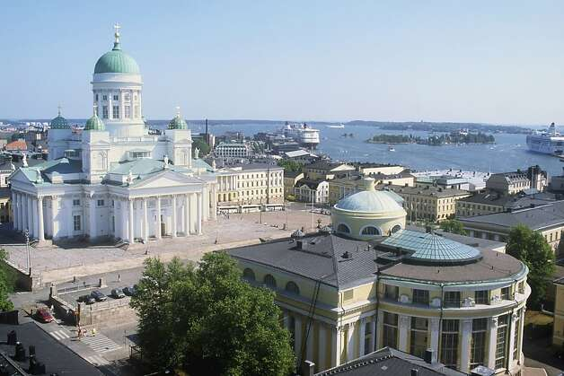 Helsinki Cathedral and Senate Square, Helsinki. Photo: VisitFinland.com