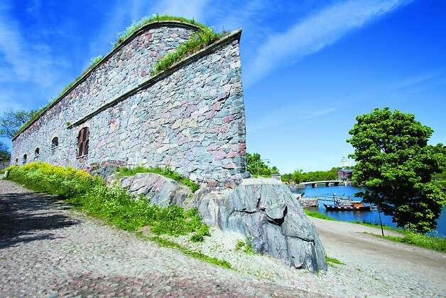 You can hop a ferry for the 15-minute ride to Suomenlinna, an 18th century stone fortress in Helsinki harbor. Photo: VisitFinland.com