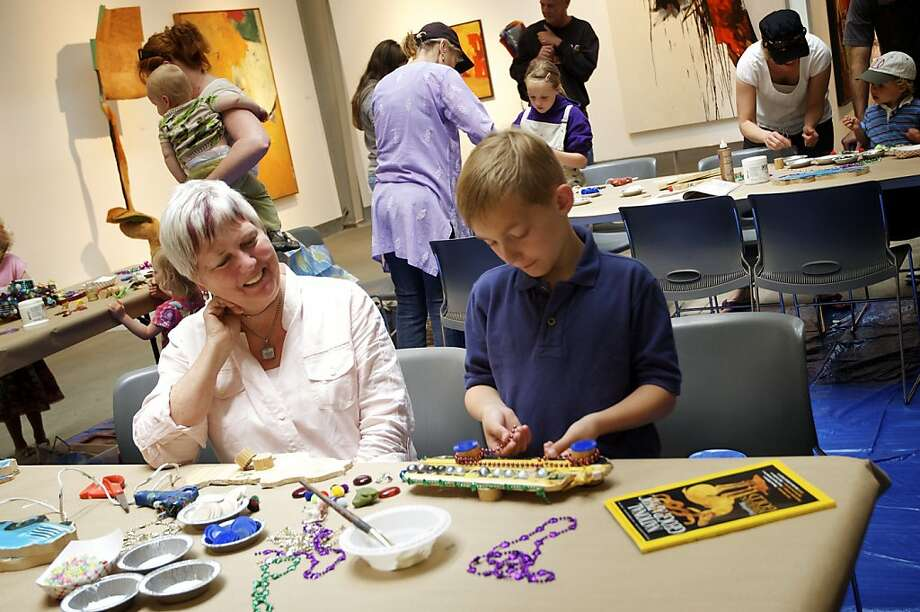 Families are encourage to get creative at di Rosa this weekend. Photo: Di Rosa