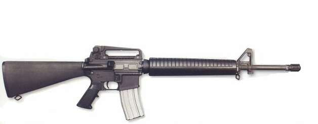 #2: BUSHMASTER .223 RIFLE (AR-15). A civilian version of the U.S. military's M-16. The D.C. sniper, John Allen Muhammad, and his youthful accomplice, Lee Boyd Malvo, used a Bushmaster .223 during their 2002 shooting spree that killed 10.