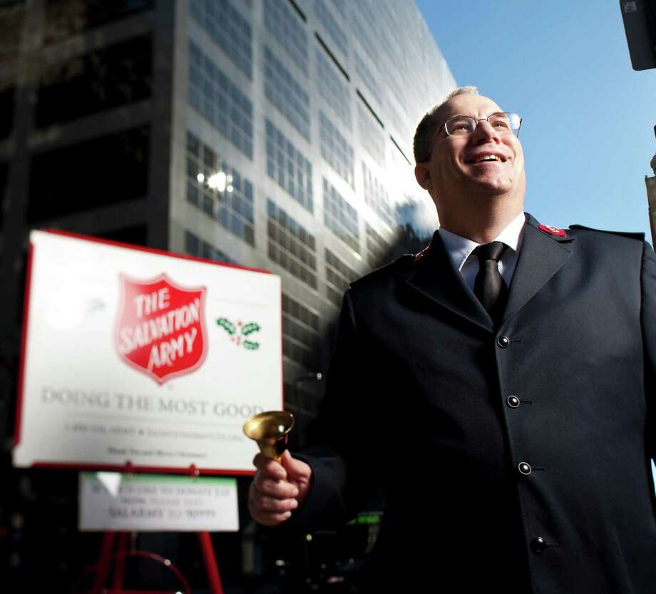 Chris Flanagan, area commander of the Salvation Army Greater Houston Area, says his organization is meeting the needs of Houston's diverse community. Photo: Nick De La Torre / Houston Chronicle