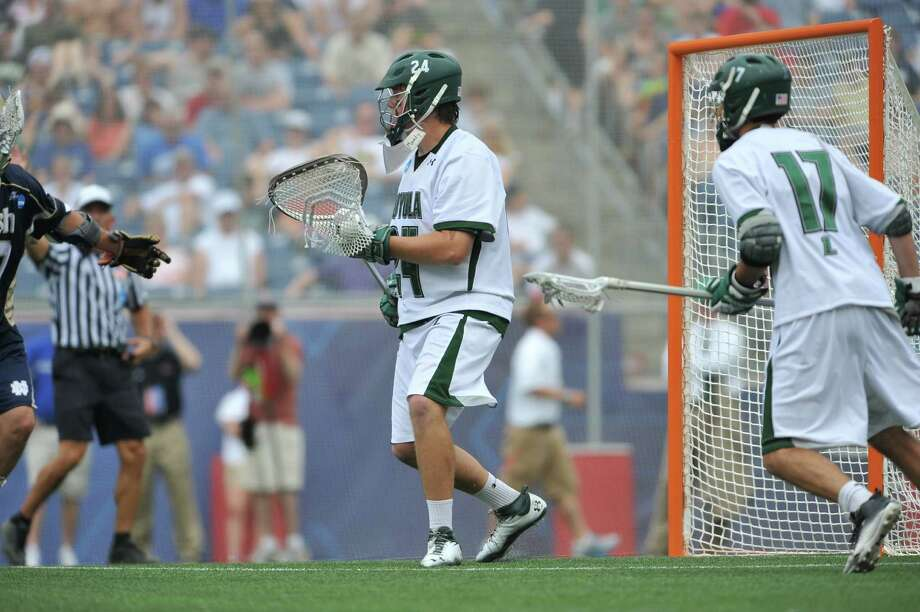 "Sophomore goalie Jack Runkel of Fairfield helped lead Loyola of Maryland to the NCAA Division I title. ""I'm going to relish this,"" Runkel said last week of the title. ""I don't want to let this go for a while."" Photo: Contributed Photo / Connecticut Post Contributed"