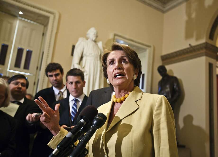 House Minority Leader Nancy Pelosi, D-San Francisco, predicts the U.S. Supreme Court will uphold the health care law by a comfortable margin. Photo: J. Scott Applewhite, Associated Press
