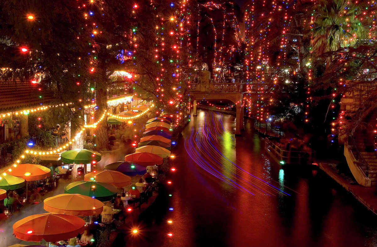 Keep clicking to see where to spot holiday lights in San Antonio.The River Walk San Antonio wouldn't be the same without the annual lighting of the River Walk, which runs throughout December. They turn on the day after Thanksgiving.