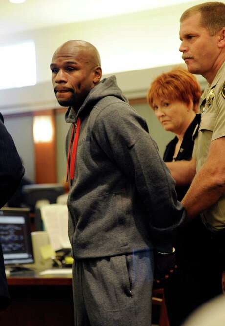 Former five-time champion Floyd Mayweather Jr.'s plea deal allows him to avoid trial on felony charges. Photo: David Becker / 2012 Getty Images