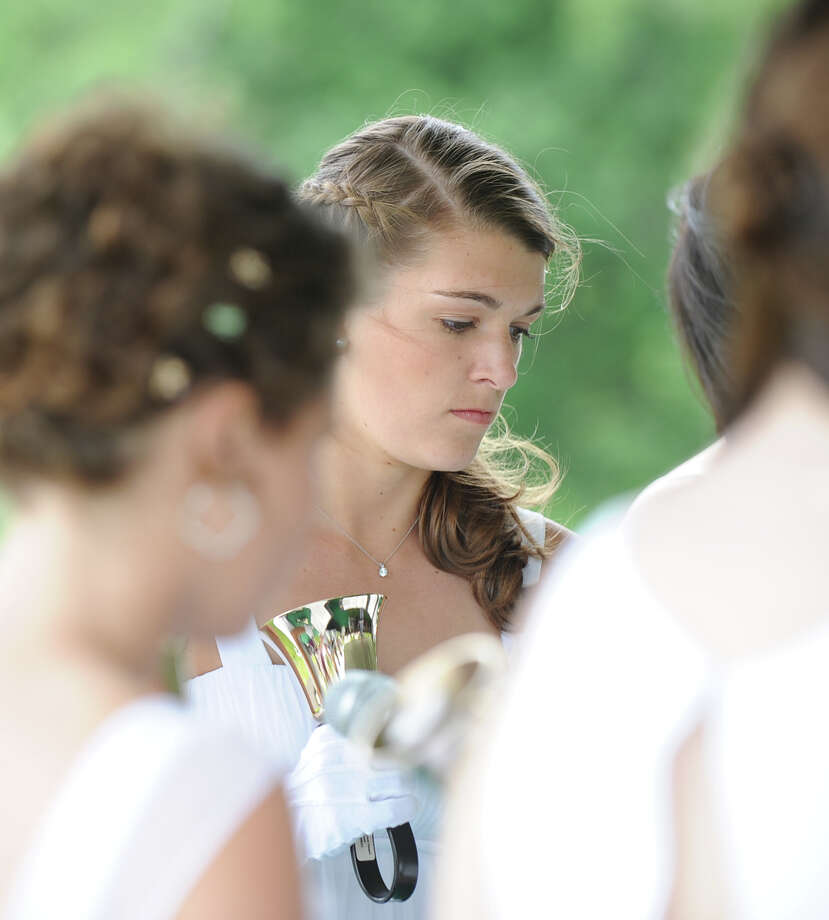 Convent of the Sacred Heart Graduation, Greenwich, Friday, June 1, 2012. Photo: Bob Luckey / Greenwich Time