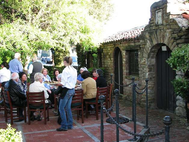 A private party dines al fresco at Will's Fargo Dining House and Saloon in Carmel Valley Village. Photo: Meredith May