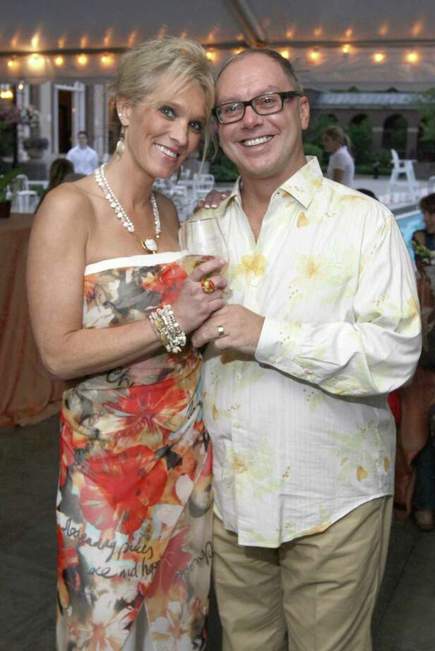 Were you Seen at Saratoga Partners Boogie Off Broadway, a benefit for the Double H Ranch, on Friday, June 1, 2012, at the Victoria Pool in Saratoga Springs? Photo: Joe Putrock/Special To The Times Union