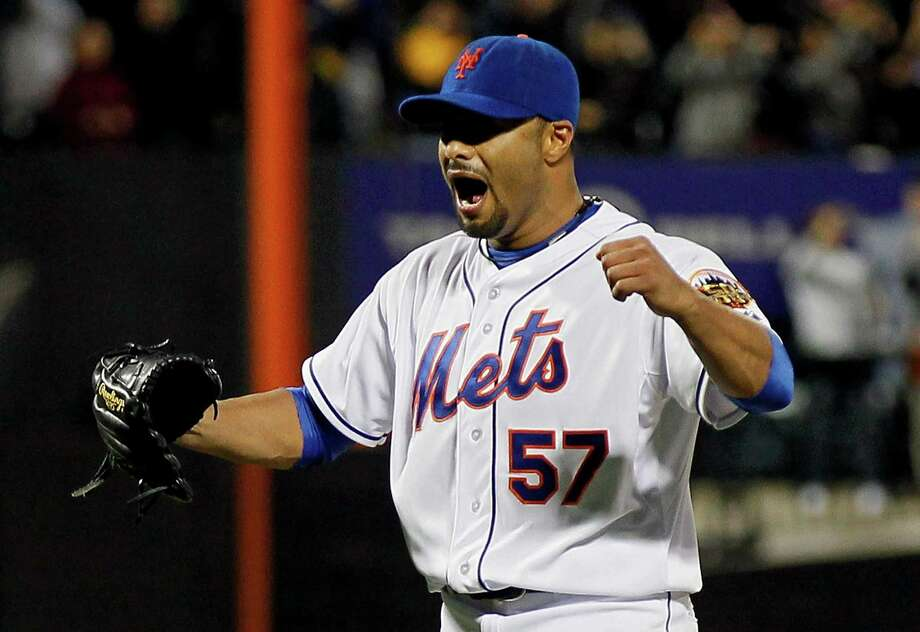 Johan Santana threw a career-high 134 pitches en route to bringing the Mets their first no-hitter. Photo: Mike Stobe / 2012 Getty Images