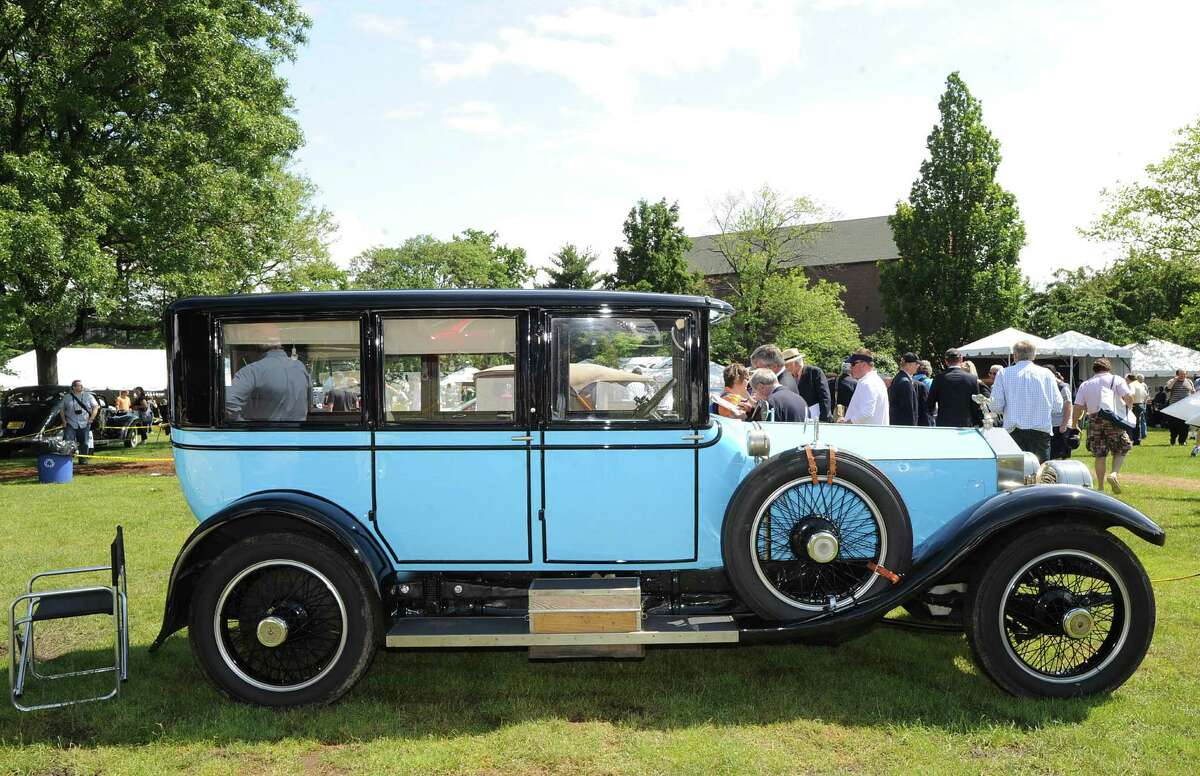 Saturday and Sunday: 250 vintage cars will be on display this weekend at the Greenwich Concours d'Elegance.
