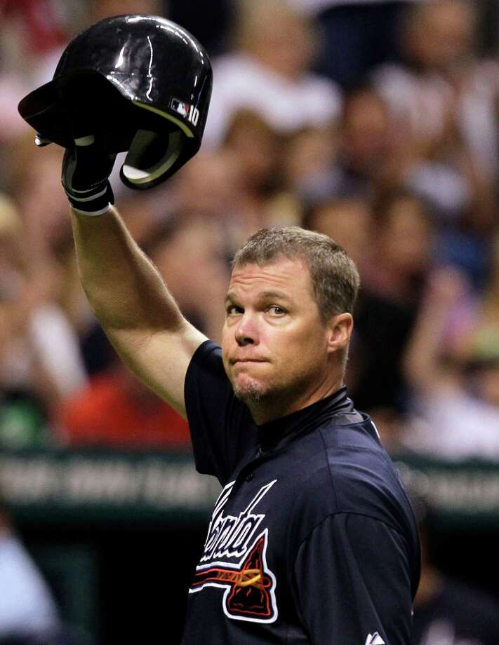 The Braves did well for themselves in drafting future Hall of Famer Chipper Jones No. 1 overall in 1990. Photo: AP