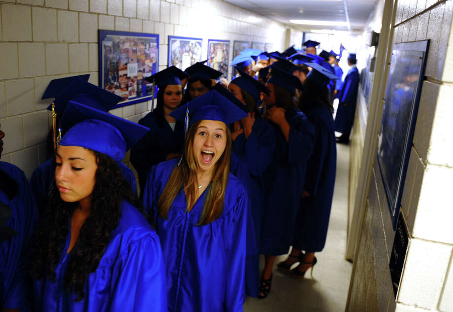 Highlights from Christian Heritage School's 29th Annual Commencement Exercises in Trumbull, Conn. on Saturday June 2, 2012. Photo: Christian Abraham / Connecticut Post