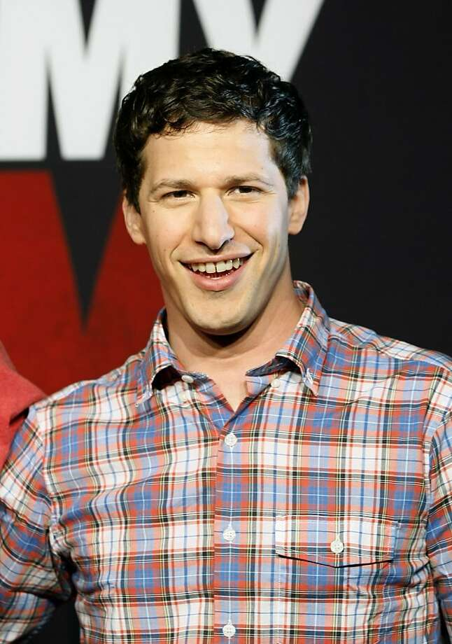 "FILE - This April 16, 2012 file photo, shows actor Andy Samberg promoting his film, ""That's My Boy"", at the Summer of Sony 4 Spring Edition photo call in Cancun, Mexico. Samberg's publicist says he is leaving ""Saturday Night Live.""  (AP Photo/Alexandre Meneghini, file) Photo: Alexandre Meneghini, Associated Press"