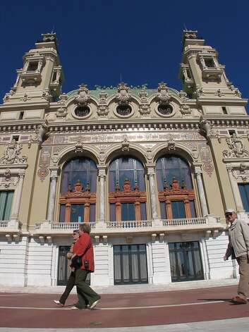 The Monte Carlo Casino is a hot spot for tourists. Photo: Spud Hilton, SFC 2006