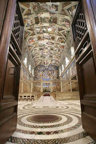 "Travelers who want to see the inside of the Sistine Chapel need to make sure the tour itinerary specifies a ""visit,"" which generally means you enter the site. Photo: Pool, REUTERS"
