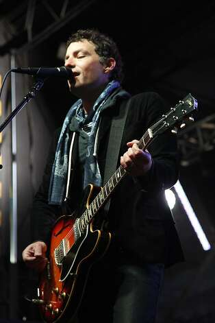 Jakob Dylan of The Wallflowers entertained thousands of people with his band during the Black and White Ball celebrating the 100th Anniversary of the San Francisco Symphony on Saturday, June 2, 2012. Dylan is the son of Bob Dylan. Photo: Alex Washburn, Special To The Chronicle