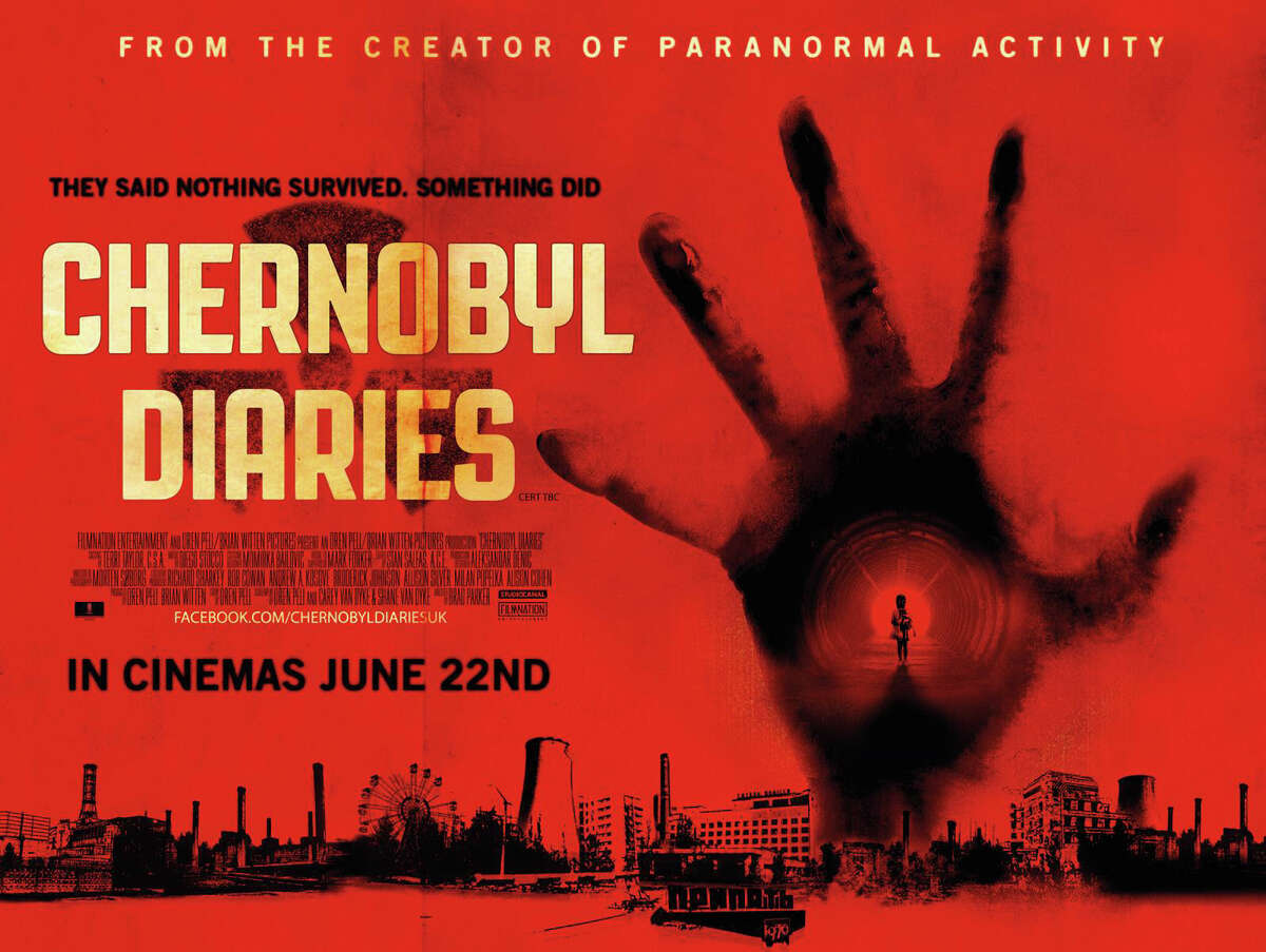 """""""Chernobyl Diaries,"""" a new horror film, is playing in area theaters."""