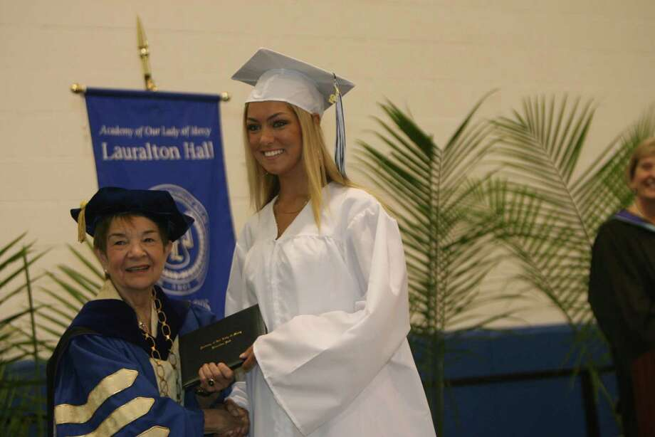 Lauralton Hall holds commencement exercises on Sunday, June 3, 2012 in Milford, Conn.