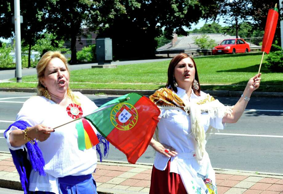 The 2012 Portuguese Day Parade is held in Danbury Sunday, June 3, 2012. Photo: Michael Duffy