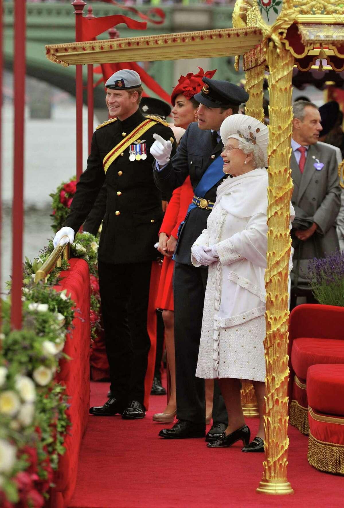 Britain Celebrates The Diamond Jubilee Of Queen Elizabeth