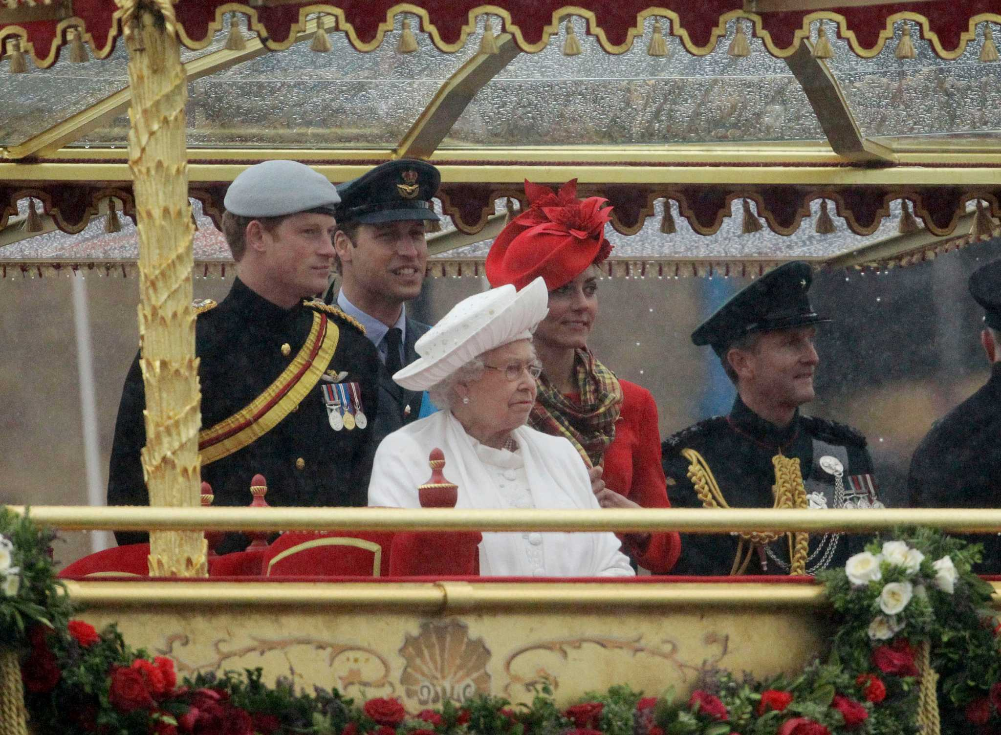 Flotilla Salutes Diamond Jubilee For Queen Elizabeth Ii