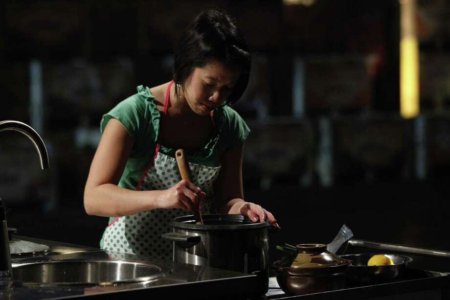 "Houston's Christine Ha, the first blind contestant on Gordon Ramsay's ""MasterChef"" series, says she relies on organization and her other senses to guide her in the kitchen. Photo: Fox / ©2012 Fox Broadcasting Co."