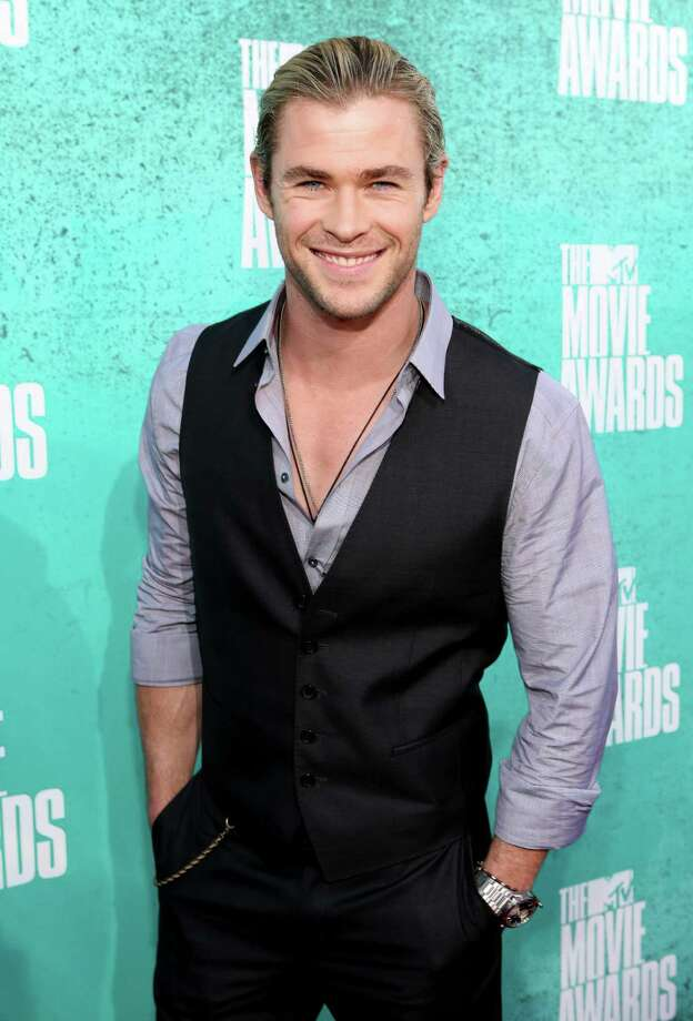 "Sticking with ""The Avengers,"" here's Chris Hemsworth. Photo: Christopher Polk, Getty Images / 2012 Getty Images"