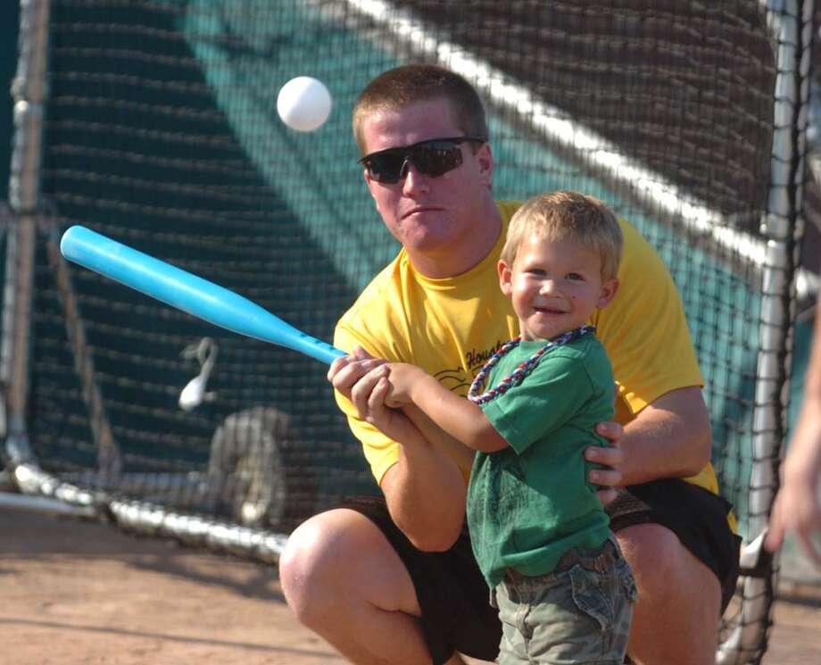 Jasper Baseball Buddies annual year-end party. Photo: Jimmy Galvan