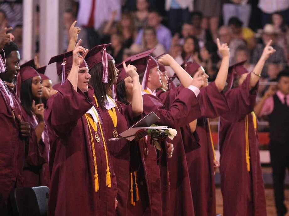 Jasper High School Class of 2012 graduation Photo: Jason Dunn