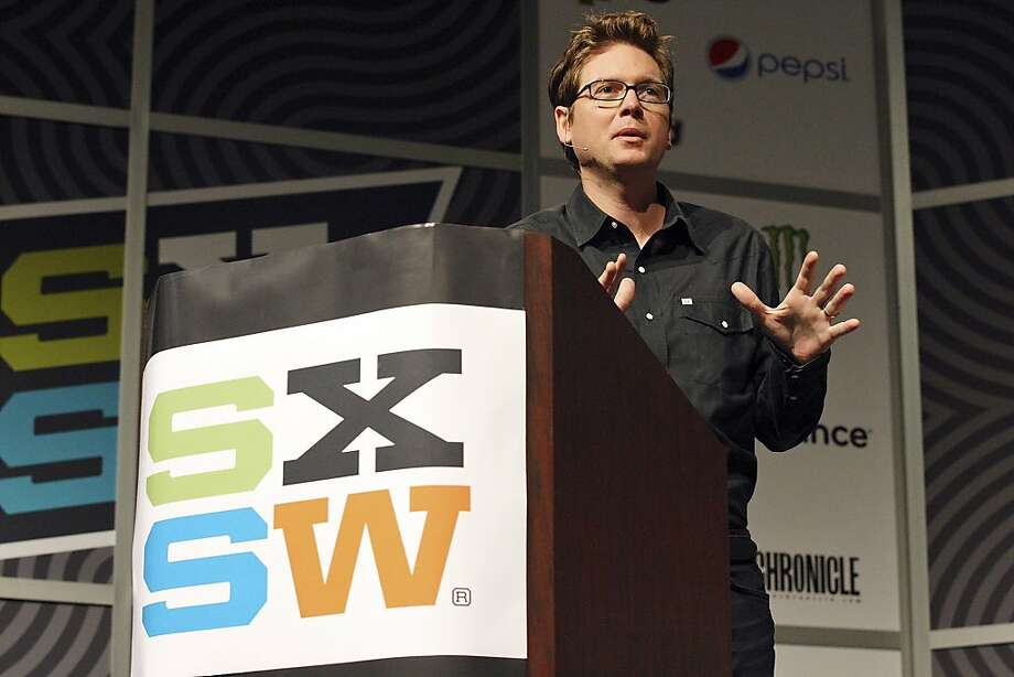 Twitter's Biz Stone is among 10 directors who will team with Canon and Ron Howard. Photo: Edward A. Ornelas, SAN ANTONIO EXPRESS-NEWS