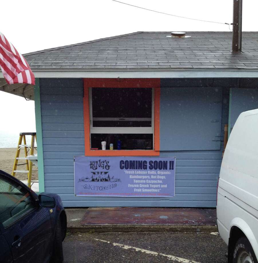"""Carter, Hunter and Parker King, three brothers from Westport, plan on opening a dine-out restaurant at a former concession stand at Southport Beach called """"Kings Kitchen, We Three Kings Serving Up Beach Food."""" The menu will offer fare such as lobster rolls, hamburgers, hot dogs and grilled corn. The opening day is slated for Saturday, June 9. Photo: Contributed Photo"""