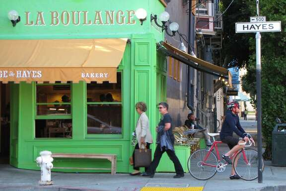 La Boulange sells sweet treats and mini palmiers.