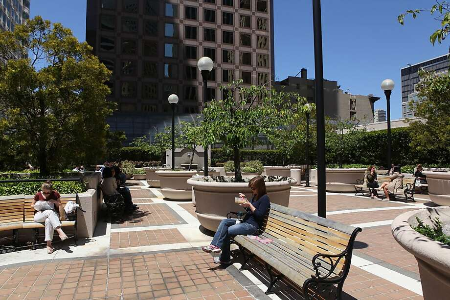 Tucked Away Public Spaces Need Upkeep By Owners Sfgate