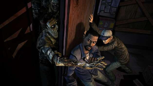 Undated images from Telltale Games' The Walking Dead, an adventure video game based on the comic books and AMC's TV show. Photo: Telltale Games