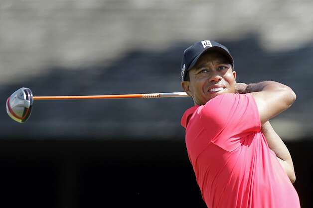 Tiger Woods plays during the final round of the Memorial golf tournament Sunday, June 3, 2012, in Dublin, Ohio. (AP Photo/Jay LaPrete) Photo: Jay LaPrete, Associated Press