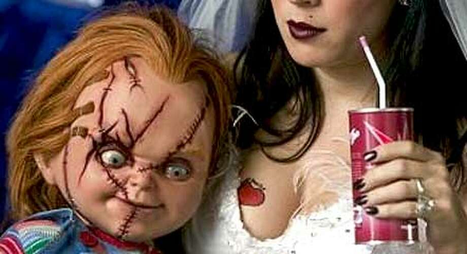 Did you know Chucky had a bride? As you can tell,with six films they started running out of ideas.