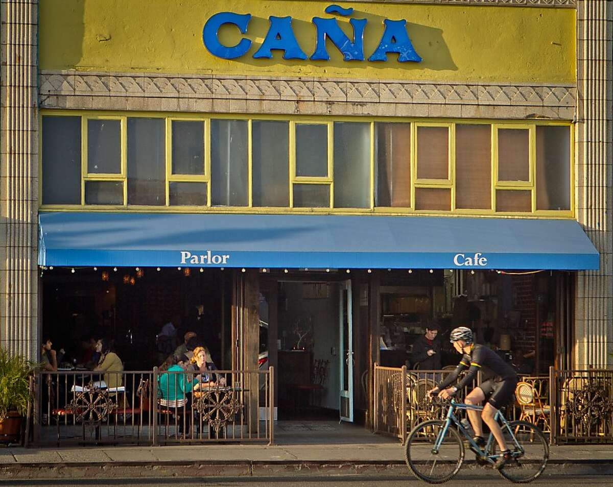 The exterior at Cana Restaurant in Oakland, Calif., is seen on Thursday, May 17th, 2012.