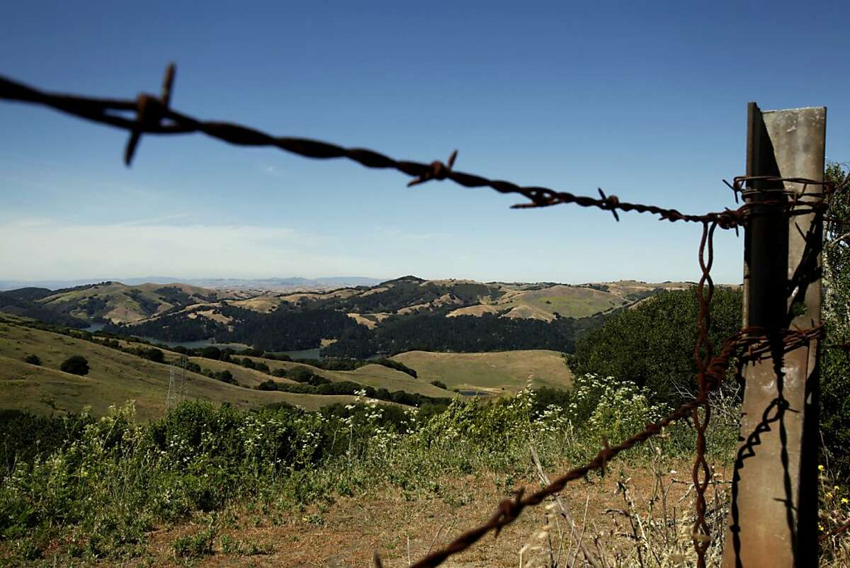 Even the views from the parking lot are inspiring at Inspiration Point in Berkeley, Calif. Sunday, June 3, 2012.