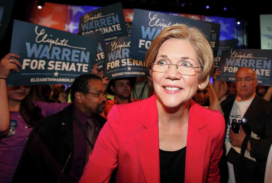 Elizabeth Warren once mentioned to Harvard there was Cherokee in her family trere. Photo: Michael Dwyer, Associated Press