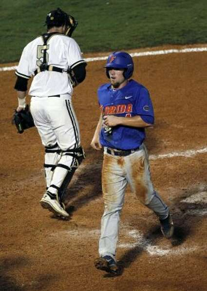 With the first pick of the second round, the Astros took Florida shortstop Nolan Fontana, seen scori