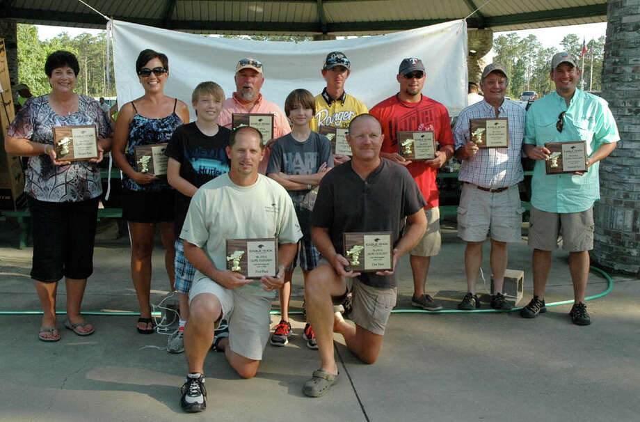 Congratulations to all of the winners at the 15th Annual Eagle Rock Crappie Tournament Photo: Patty Lenderman/Lakecaster