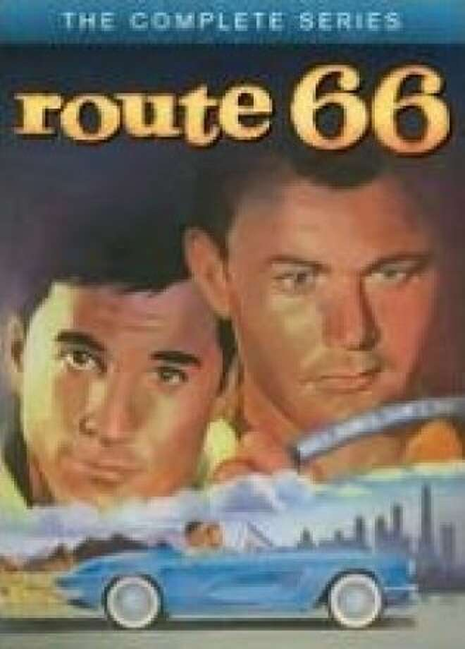 dvd cover ROUTE 66: COMPLETE SERIES Photo: Shout! Factory