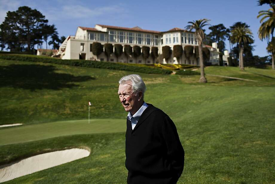 Former PGA golfer Ken Venturi on the 18th green at the renovated Olympic Club Course in San Francisco, Calif., March 12, 2012. Photo: Jason Henry, Special To The Chronicle