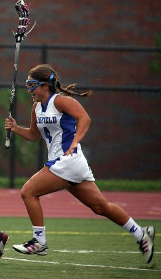 Fairfield Ludlowe junior Lizzie Pratt was a contributor for the Falcons in 2012. Photo: File Photo
