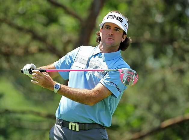 DUBLIN, OH - MAY 31:  Bubba Watson hits his tee shot on the par 4 2nd hole during the first round of the Memorial Tournament presented by Nationwide Insurance at Muirfield Village Golf Club on May 31, 2012 in Dublin, Ohio.  (Photo by Andy Lyons/Getty Images) Photo: Andy Lyons, Getty Images