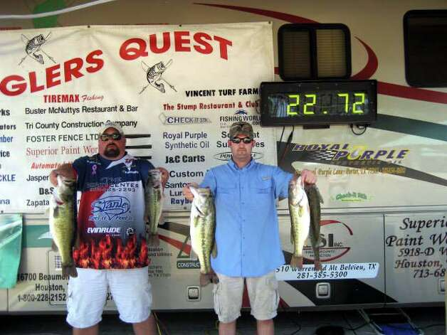 N Dee Williams & Kyle Rawlinson culled from 20 keepers to finish in 1st place with 22.72 lbs