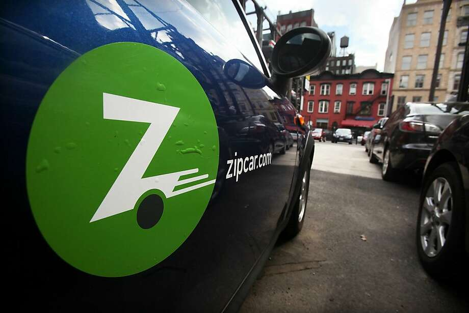 NEW YORK - JUNE 03:  A Zipcar is seen in a Manhattan parking lot June 3, 2010 in New York City. The car sharing service that is used primarily in urban areas and colleges has filed for an initial public offering. Photo: Mario Tama, Getty Images
