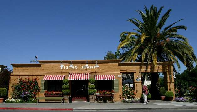 Bistro Jeanty is seen in Yountville, Calif. Photo: Anja Schlein, AP