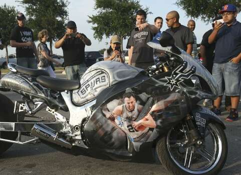 Chopper Bikes In San Antonio Tx. San Antonio Spurs fans take